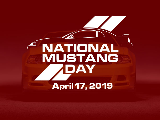 National Mustang Day 2019