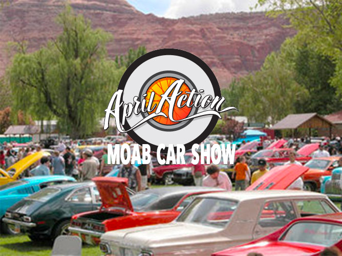 April Action Moab Car Show NUMOA Northern Utah Mustang - Moab utah car show