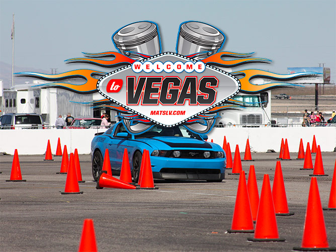 Muscle Cars at the Strip